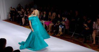 SHERRI HILL Spring 2017 Runway Show NYFW - Hochzeitsmode Dresden - Uwe Herrmann